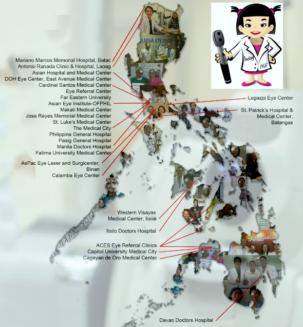 PGF patient map